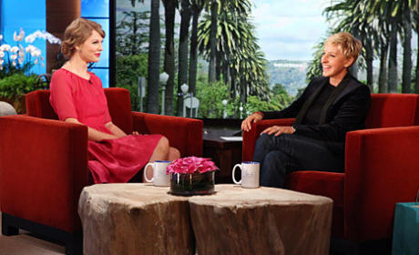Taylor Swift on Ellen