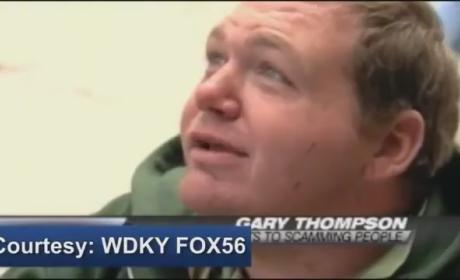 Gary Thompson Pretends to Be Handicapped, Earns $100K a Year Panhandling