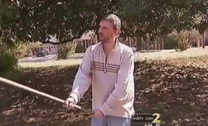 Guy Fends Off Burglars With Shovel