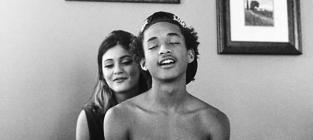 Kylie Jenner Poses in Bed with Shirtless Jaden Smith