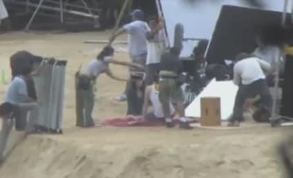 Robert Pattinson and Kristen Stewart: Kissing on Camera!