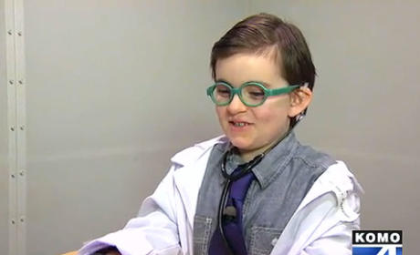 Boy Dresses Up For Halloween as Doctor Who Saved His Life