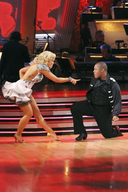 Kyle Massey, Lacey Schwimmer Photo