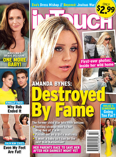 Amanda Bynes Tabloid Cover