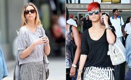 Celebrity Fashion Face-Off: Whitney Port vs. Rihanna