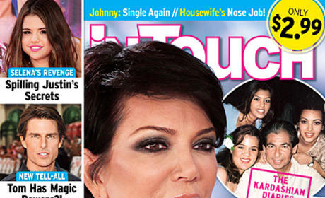 Kris Jenner: Exposed by Tabloid!