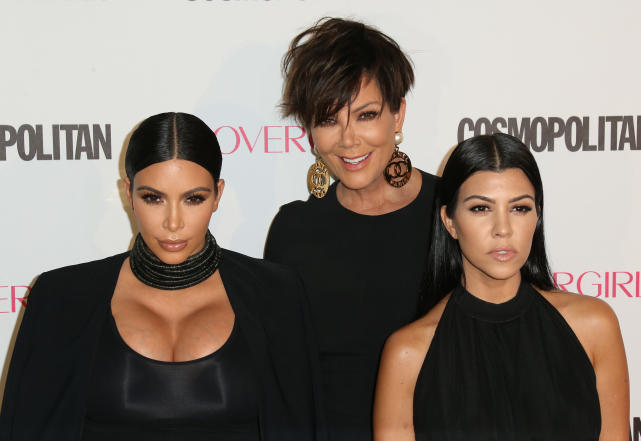 Kris, Kim, Kourtney