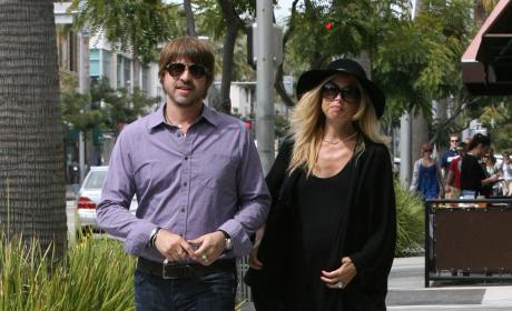 Rachel Zoe and Rodger Berman Photo