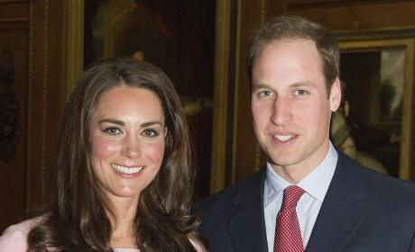 Kate Middleton With Prince William