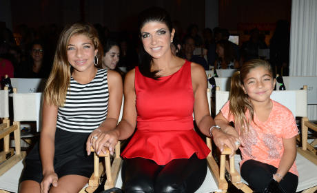 Melissa Gorga Filming Reality Show...With Teresa Giudice's Kids?!