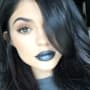 Kylie Jenner with Black Lips