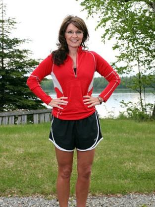 Hot Running Mom!