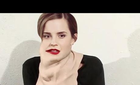 Emma Watson and Sofia Vergara: Topless Transformation Video