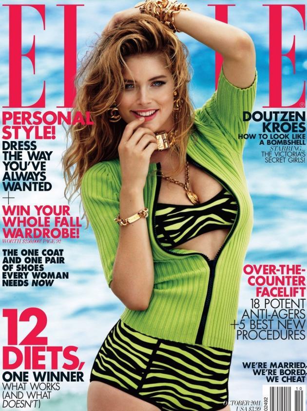 Doutzen Kroes Elle Cover