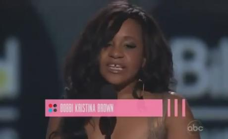 Whitney Houston Tribute: Jordin Sparks Sings, Bobbi Kristina Brown Accepts Billboard Millennium Award