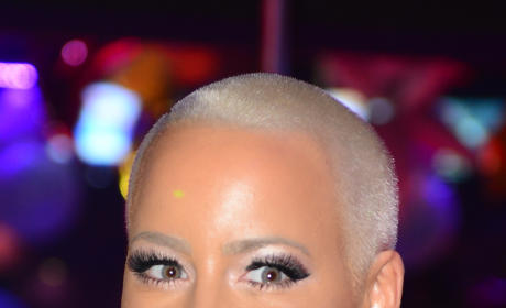 Amber Rose Poses for Paper Magazine; Kardashians P!SSED at Rival?!