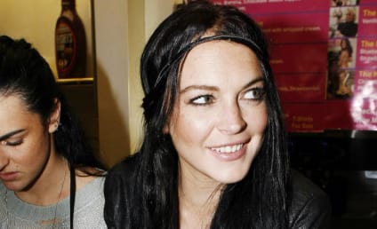 Lindsay Lohan Takes a (James) Blunt Object to Bed