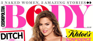 Khloe Kardashian for Cosmo Body