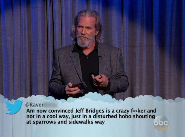 Jeff Bridges is a Hobo!