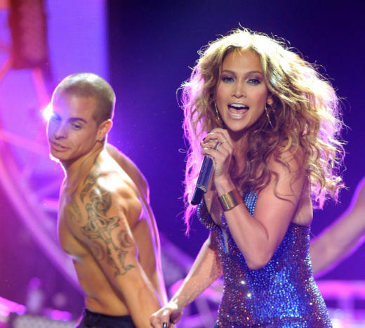 Jennifer Lopez, Boyfriend on Stage