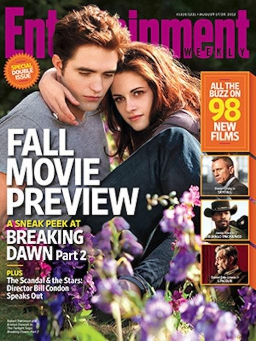Kristen Stewart and Robert Pattinson EW Cover