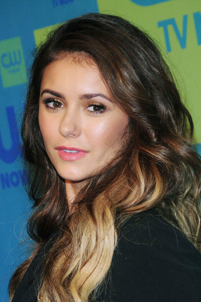 Nina Dobrev as a Blonde