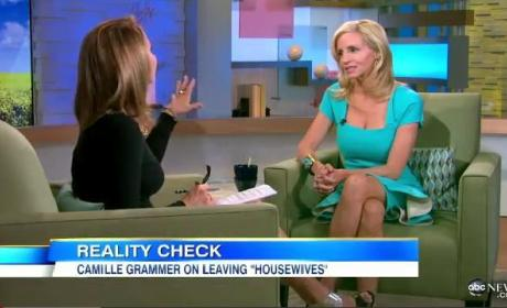 Camille Grammer Talks Real Housewives of Beverly Hills, Continues to Slam Ex