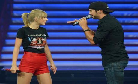 Taylor Swift Shocks Nashville Audience with Luke Bryan Duet