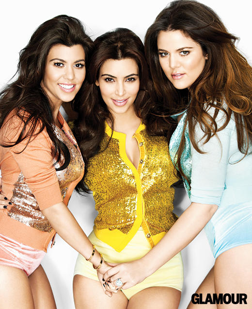 Kourtney Kardashian, Kim Kardashian, Khloe Kardashian: Pantsless!