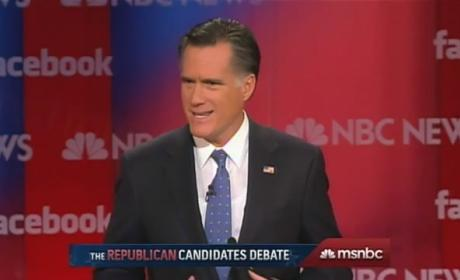 "Newt Gingrich to Mitt Romney: Cut ""Pious Baloney"""