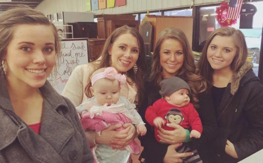 Duggar Girls Photo