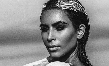 Kim Kardashian Nude Desert Shoot Sparks Cries of Photoshop, Hypocrisy