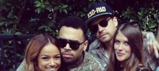 Chris Brown Welcome Home Party Pics