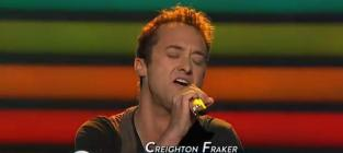 "Creighton Fraker Shows His ""True Colors"" on American Idol"