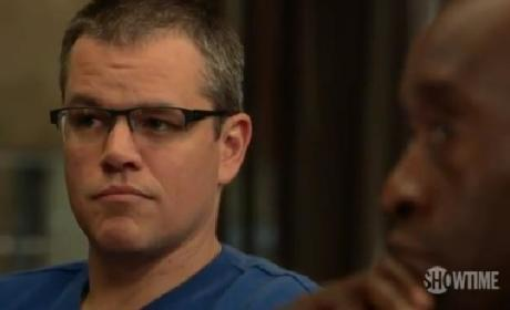 Matt Damon on House of Lies: Eff George Clooney!