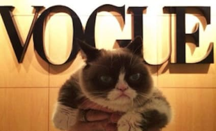 Grumpy Cat Visits Vogue, is Unenthralled