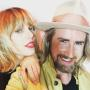 Taylor Swift and Gareth Bromell
