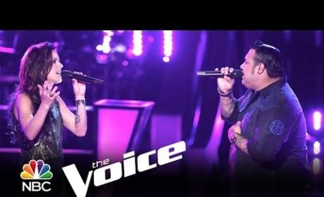 Ryan Whyte Maloney vs. Kaleigh Glanton: Easy (The Voice)