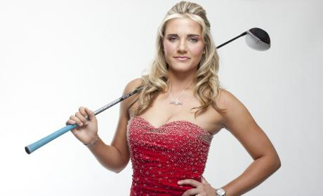 Lexi Thompson: Topless For Golf Digest!