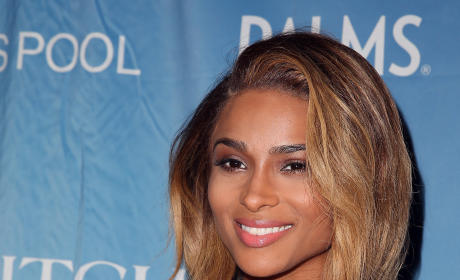 Ciara Hairstyle Change: Back 2 Black!