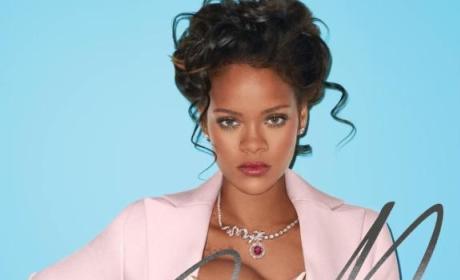 Rihanna Boob Grab Image