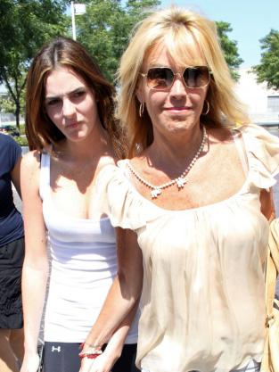 Dina and Ali Lohan