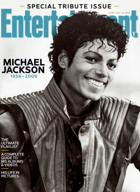 Michael Jackson Entertainment Weekly Cover (III)