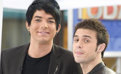 Adam Lambert and Kris Allen on NBC's The Today Show