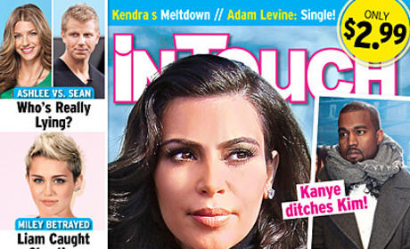 Kim Kardashian: Pregnant... AND Alone?!?
