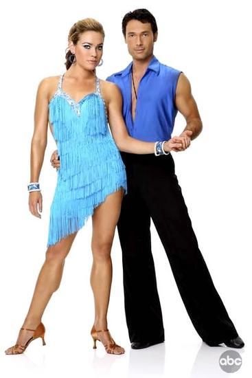 Natalie Coughlin and Alec Mazo