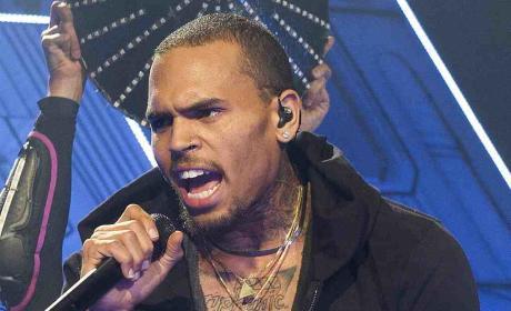Chris Brown Angry