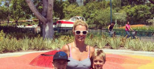 Britney Spears and Sons Visit Disneyland, Look Like Happiest Family Ever
