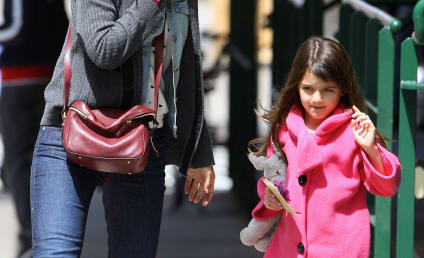 "Suri Cruise Called ""Bitch"" and ""Little Brat"" By Paparazzi"