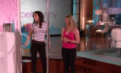 Olivia Munn Challenges Bethenny Frankel to Pole Dance-Off
